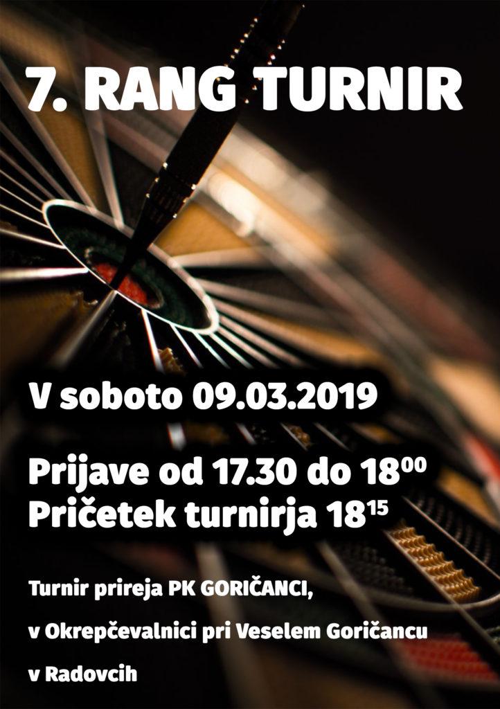 7. RANG TURNIR @ Okrepčevalnica pri Veselem Goričancu, Radovci